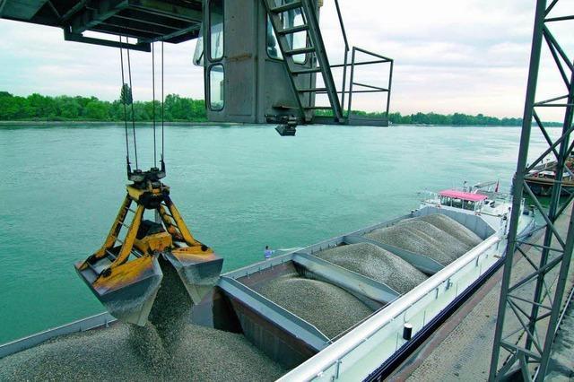 Weiler Rheinhafen legt 2010 zu