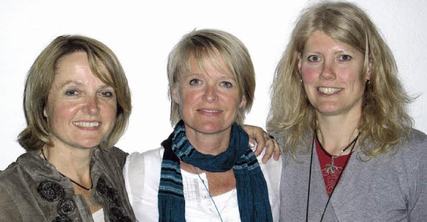 Uschi Kaiser, Christiane Büchele, Bärb...cht auf dem Foto) führen den Club an.   | Foto: Christiane Sahli