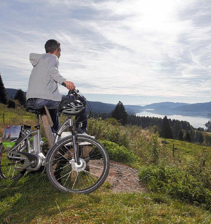 Mit dem E-Bike lassen sich die Höhen leichter erklimmen.   | Foto: HTG