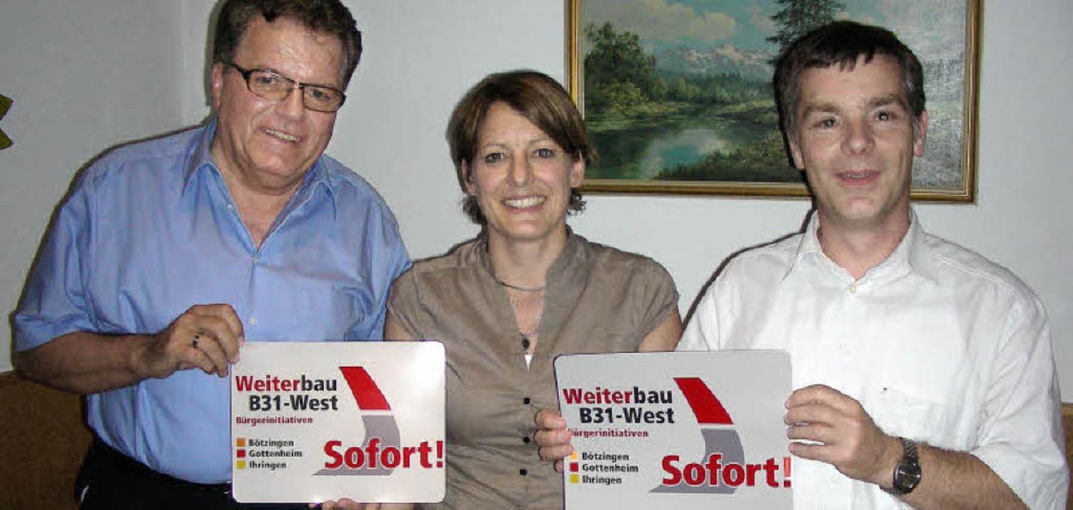 Gemeinsam wollen sie mehr Interesse am...heim) und  Hans Mattmüller (Ihringen).  | Foto: mario schöneberg