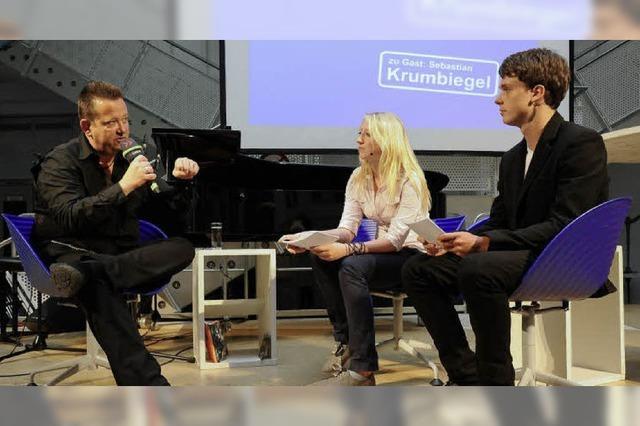 """Was sagte Prinzen-Sänger Krumbiegel als Gast bei """"Nachgefragt""""?"""