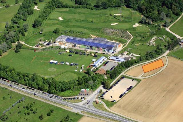 Ein Sporthotel nahe der Golfwelt