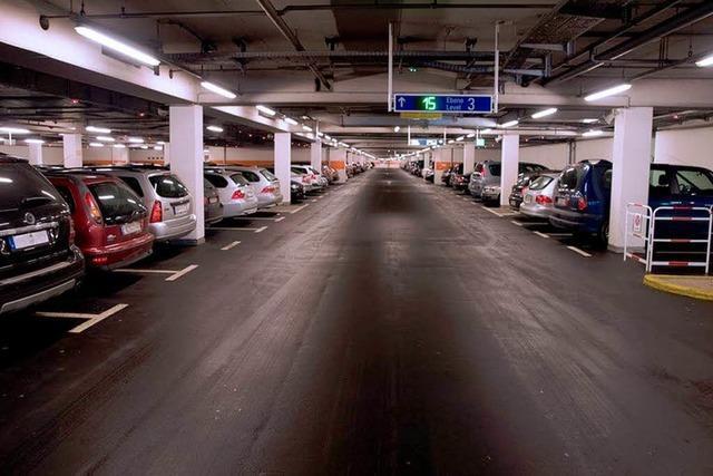 Parken ist in Freiburg teurer als in Los Angeles