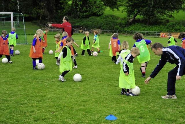 Spaß am Fußball steht im Vordergrund