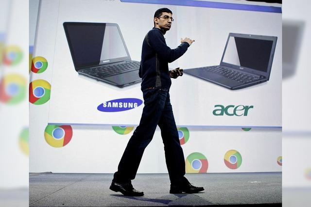 Google preist den einfachen Laptop