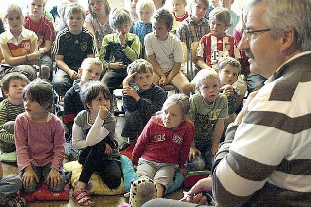 Kinder sind jetzt Dachsberg-Experten
