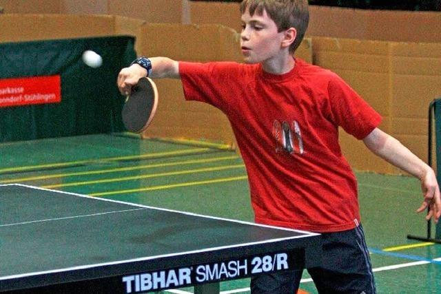 Die besten Tischtennisspieler sind ermittelt