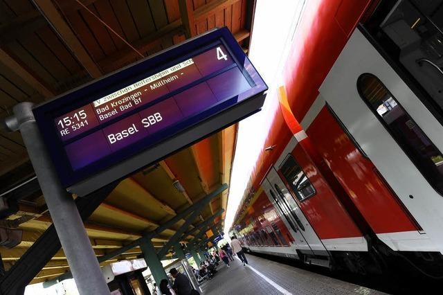 Rheintalstrecke bleibt weiterhin gesperrt