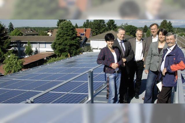 147 Quadratmeter für Sonnenenergie