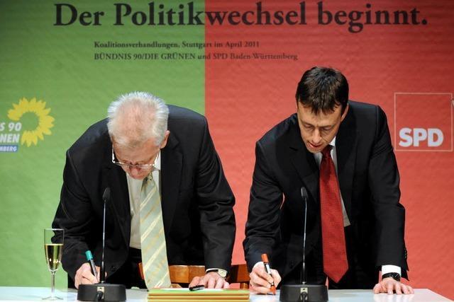 Südbadens Bosse: Keine Panik wegen Grün-Rot