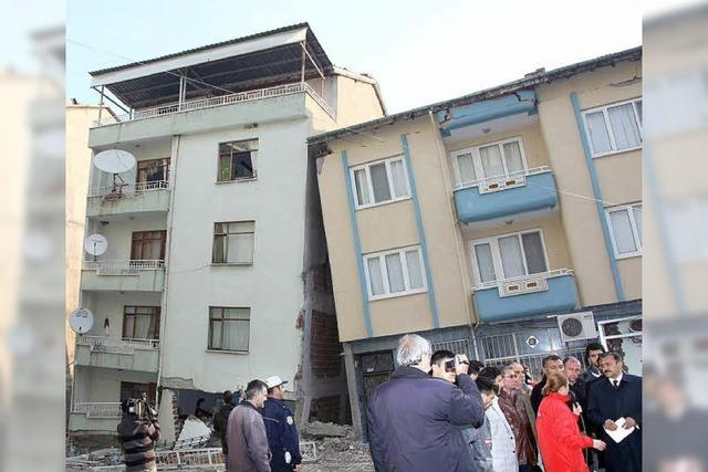 Erdbeben vor laufender Kamera