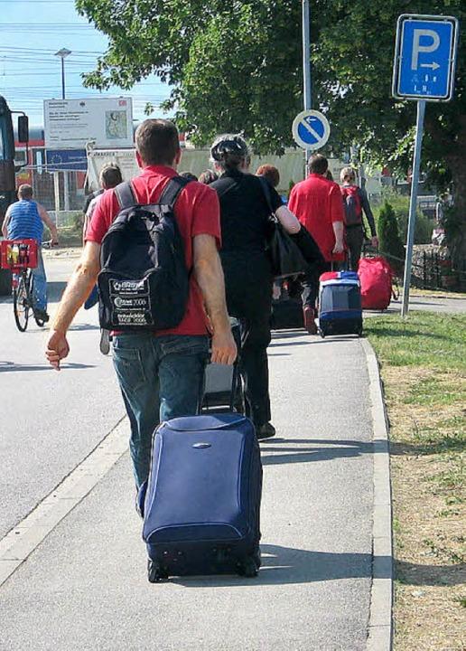 Busverkehr Schliengen Bahnunglück  | Foto: Jutta Schütz