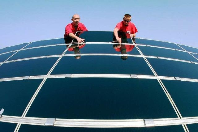 Die Mär von den blitzeblank sauberen Solarzellen