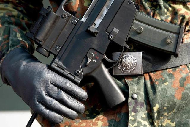 Neue Debatte über Bundeswehr-Einsätze im Inland