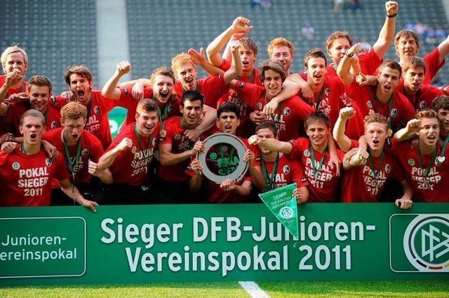 SC Freiburg gewinnt DFB-Junioren-Vereinspokal