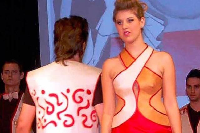Textilschüler präsentieren eigene Ideen