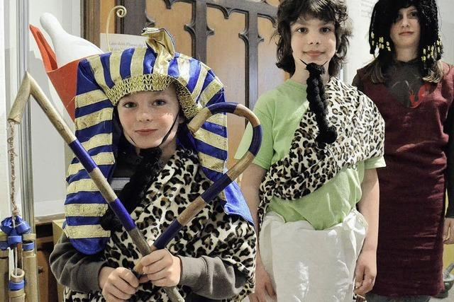 Einmal ein Pharao sein