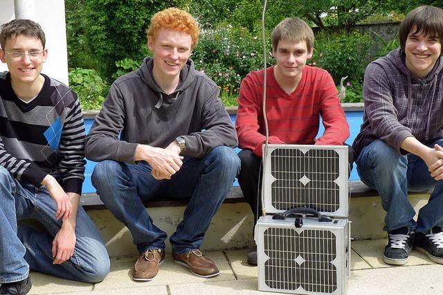 Mit einem handlichen Solarkraftwerk zum Erfolg