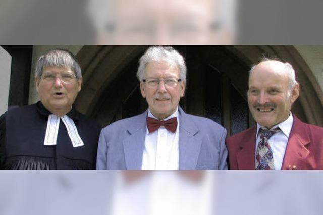 In sechs Jahrzehnten 2500 Gottesdienste an der Orgel begleitet