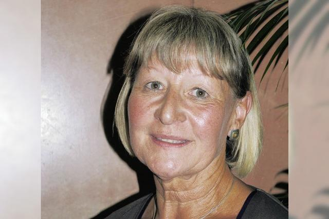 Renate Gotterbarm führt die AWO
