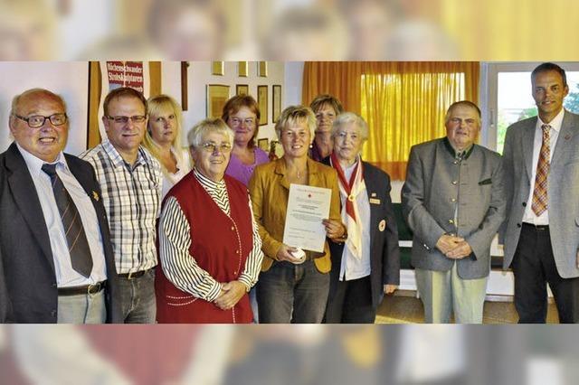Gemeinde ehrt Blutspender