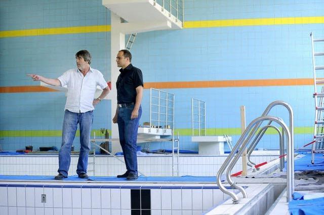 """FT-Schwimmbad: """"Ein wirklich schickes Bad"""""""