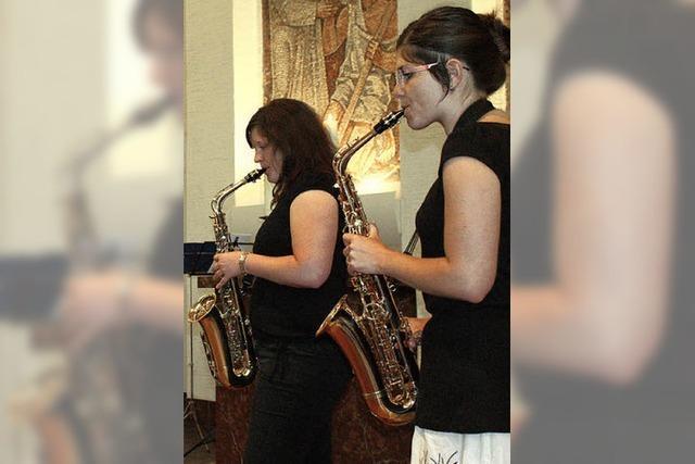 Jazz gehört natürlich zum Saxophon – und wie!