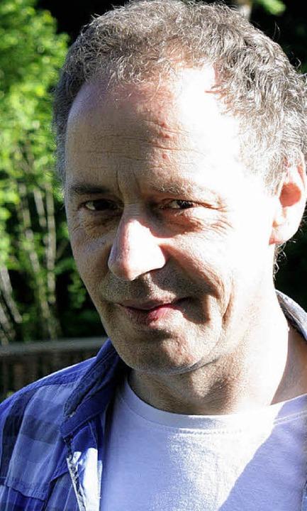 Thomas Hebding, Vorsitzender der 1986 gegründeten IG Wehratalbahn  | Foto: jacob