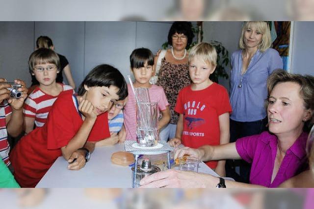 Grundschüler als Forscher