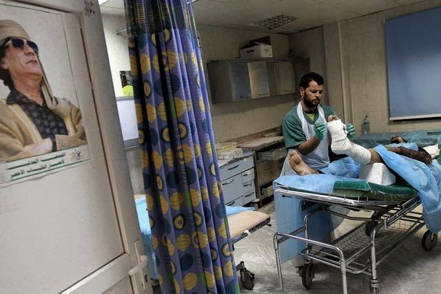 Nato fliegt schwere Angriffe gegen Tripolis