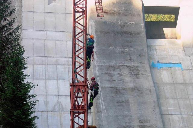 Wieder schwerer Arbeitsunfall an der Staumauer