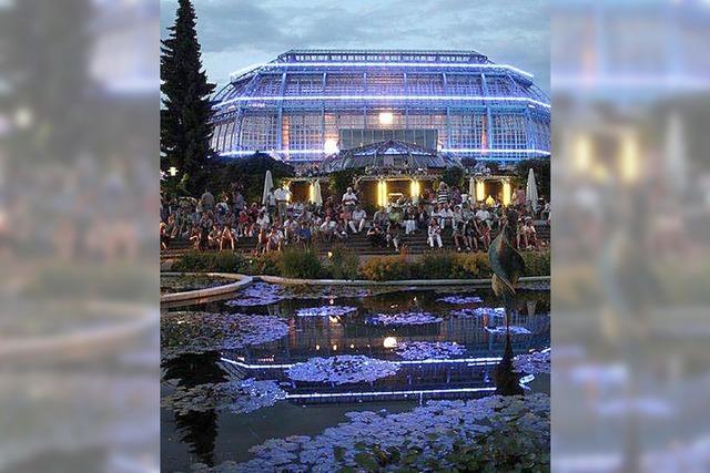Berlin lädt zur Botanischen Nacht