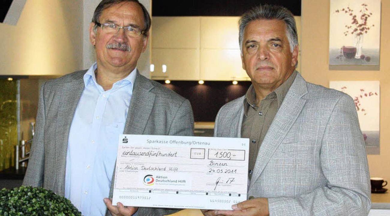 Spende Fur Erdbebenopfer Binzen Badische Zeitung