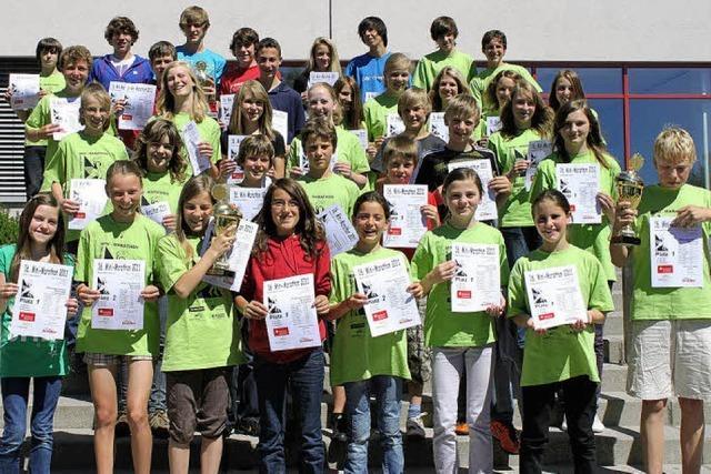Junge Bonndorfer Sportler lassen die Konkurrenz hinter sich