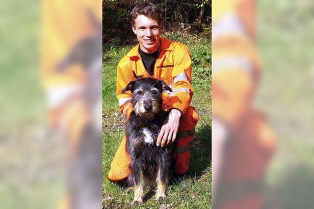Rettungshund wird vermisst