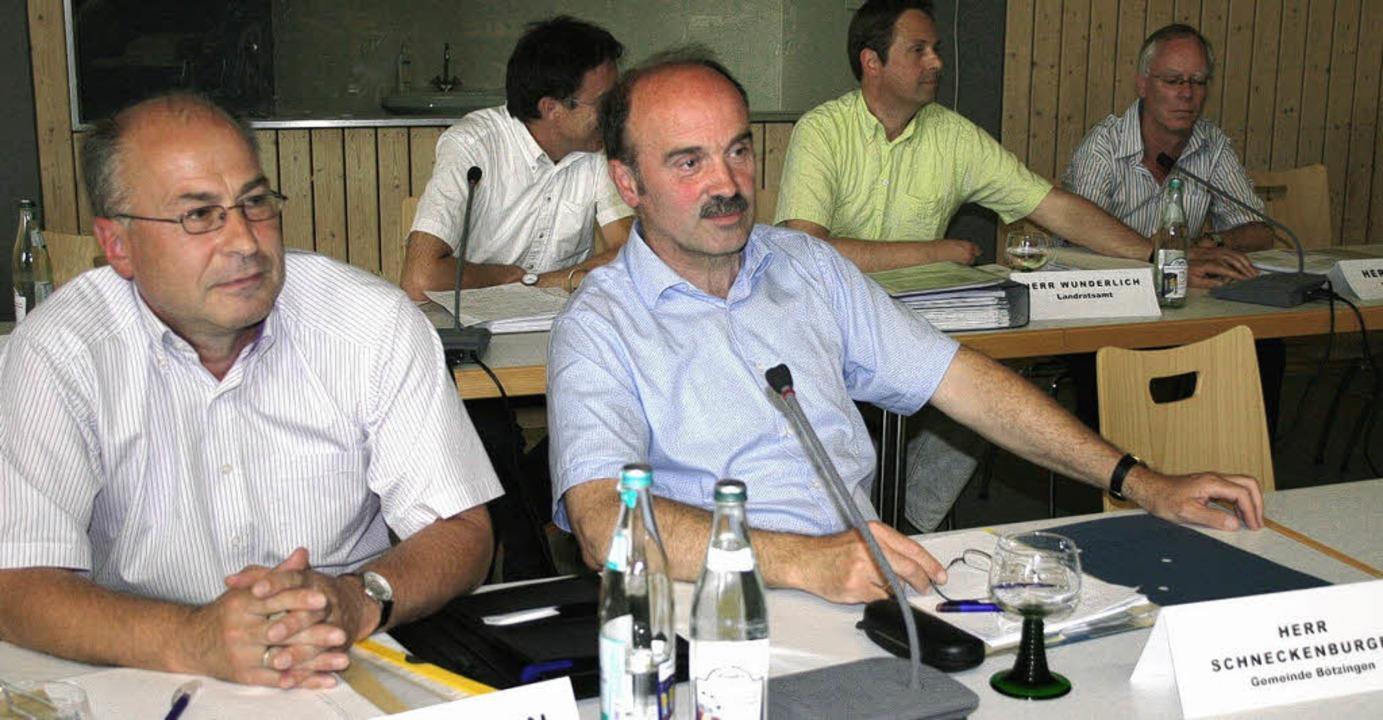 Auch Vertreter des Landratsamts sowie ...n ihre Anliegen und Einwände geltend.     Foto: horst david