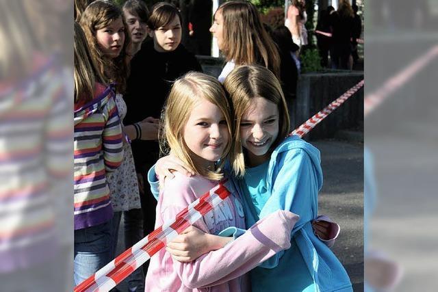 Schule zweigeteilt wie einst Deutschland