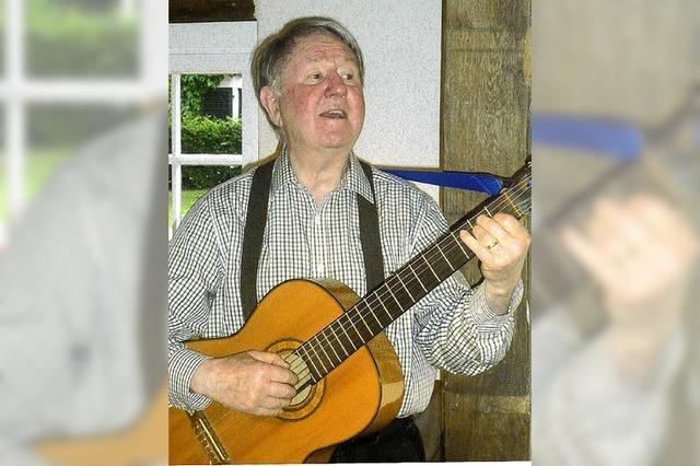 Ein Liedermacher plaudert aus dem Nähkästchen