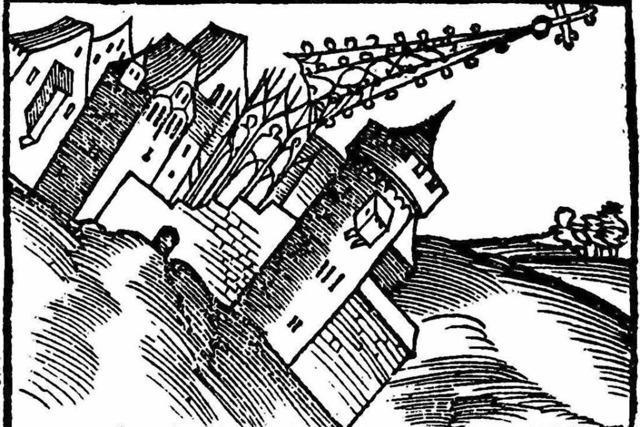 Statik des Freiburger Münsterturmhelms in Gefahr