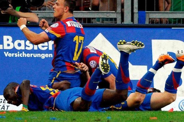 FC Basel mit Trainer Fink wieder Schweizer Meister
