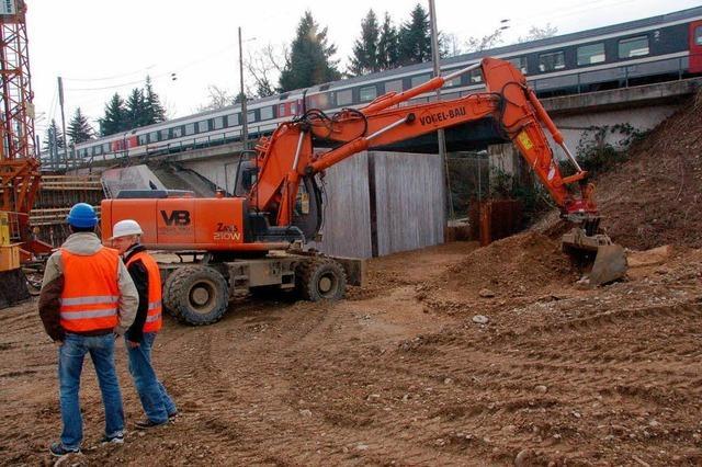 Bahn lädt zur Baustelle