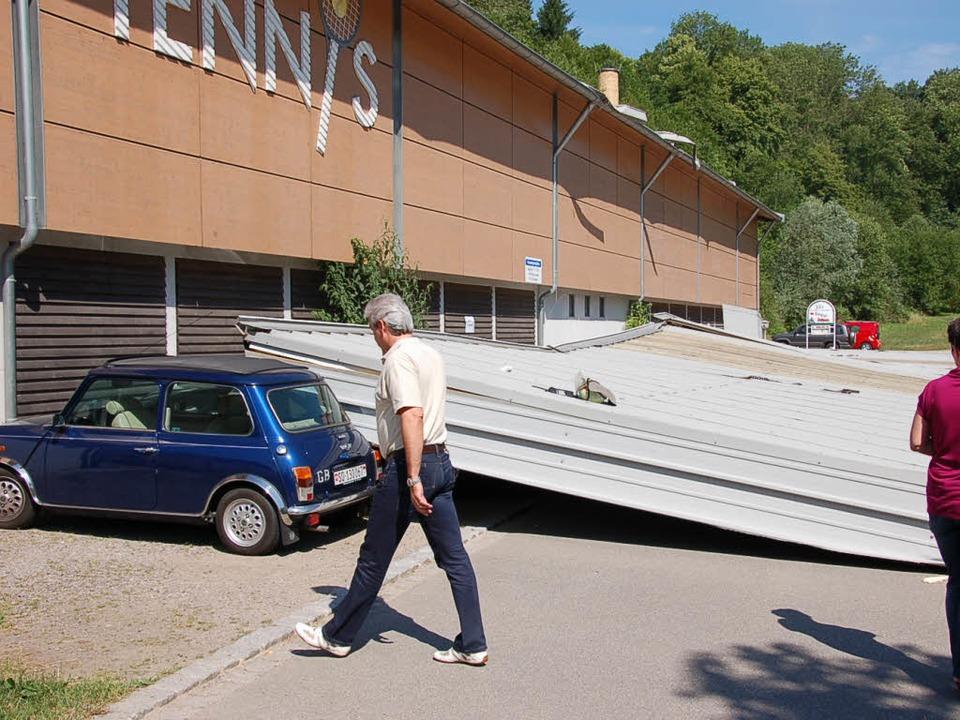 Tennishalle Bad Säckingen