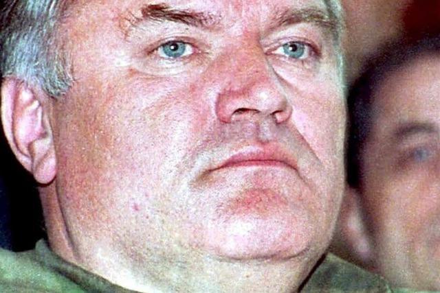 Flüchtiger Kriegsverbrecher Mladic gefasst