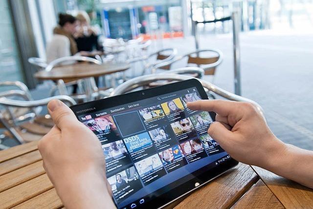 Aufmarsch der Tablet-Androiden