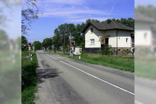 B 31 hängt das Bahnwärterhaus ab unter B 31 West