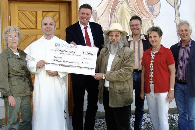 1000 Euro für die Kapelle