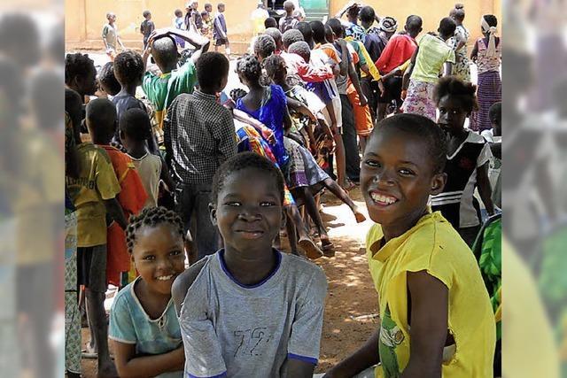 Sponsorenlauf für Bau einer Schule in Burkina Faso