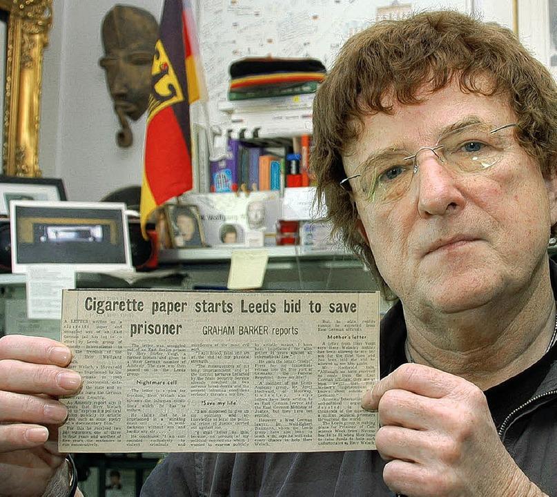 Wolfgang Welsch: Die Zeitungen in Leeds informierten regelmäßig über seinen Fall  | Foto: -