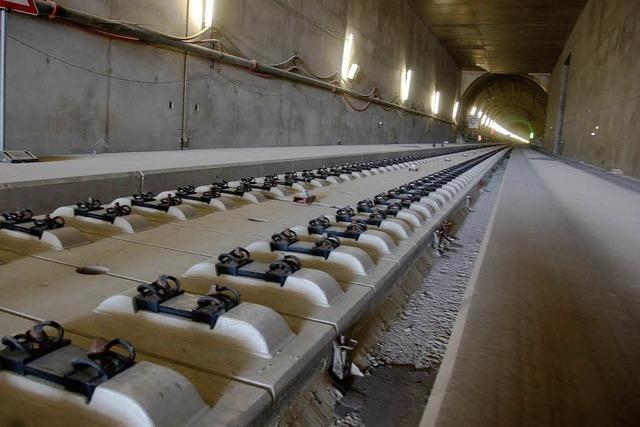 Güterzüge in den Katzenbergtunnel? Bahn schafft Voraussetzungen