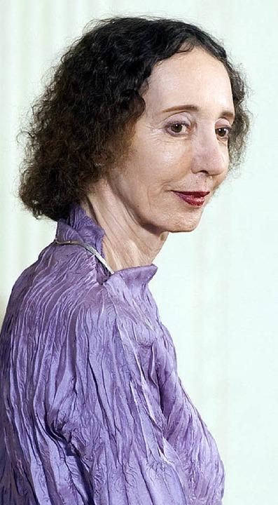 Joyce Carol Oates   | Foto: dpa